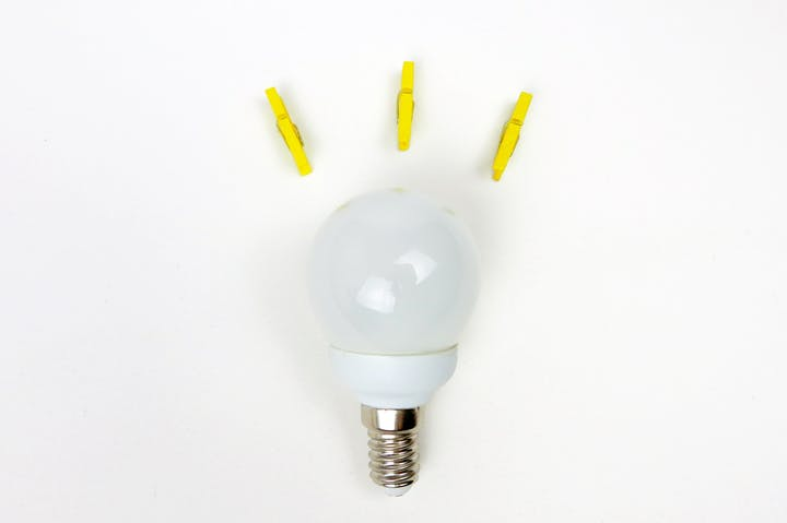 May contain: light and lightbulb