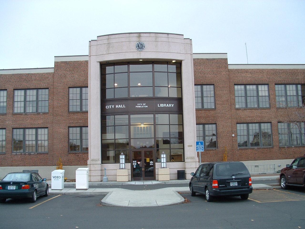 Pendleton Public Library building