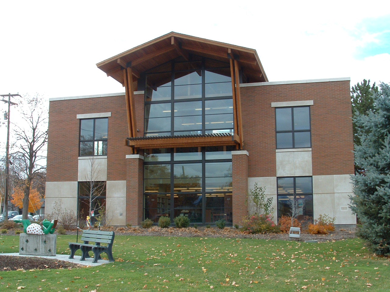 Milton-Freewater Public Library building