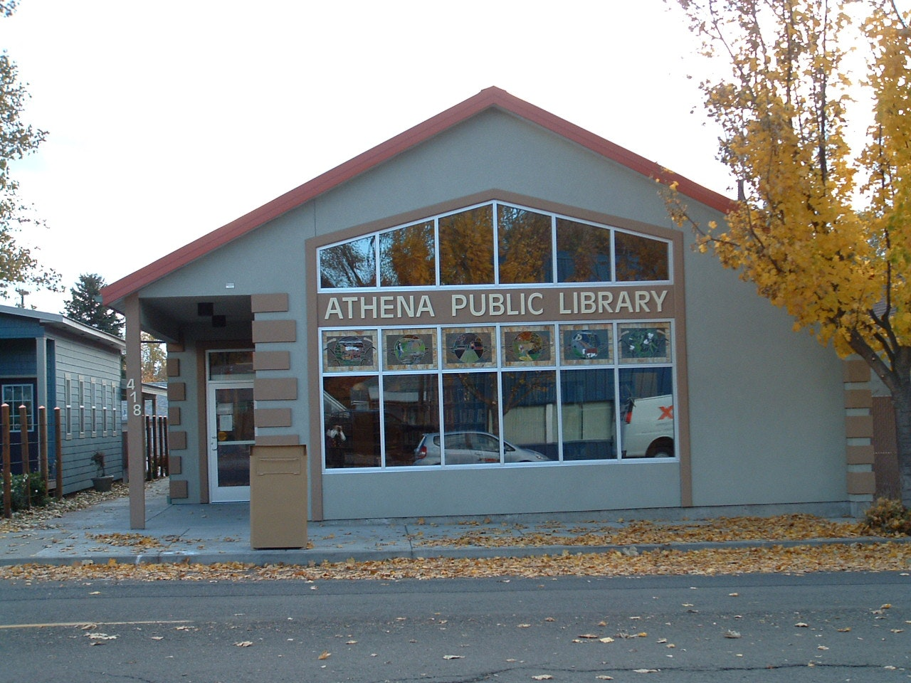 Athena Public Library building