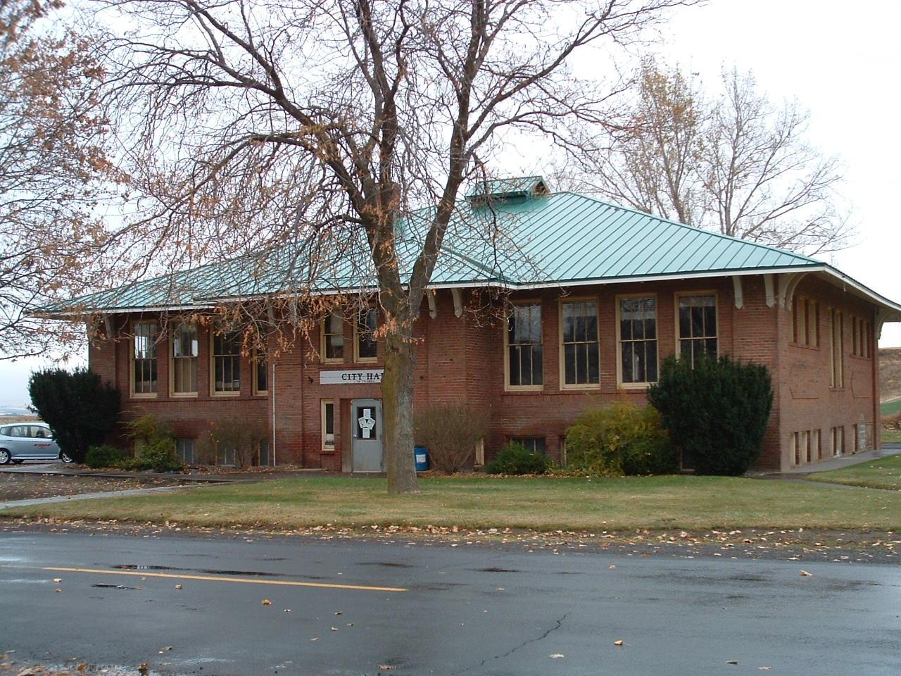 Helix Public Library building