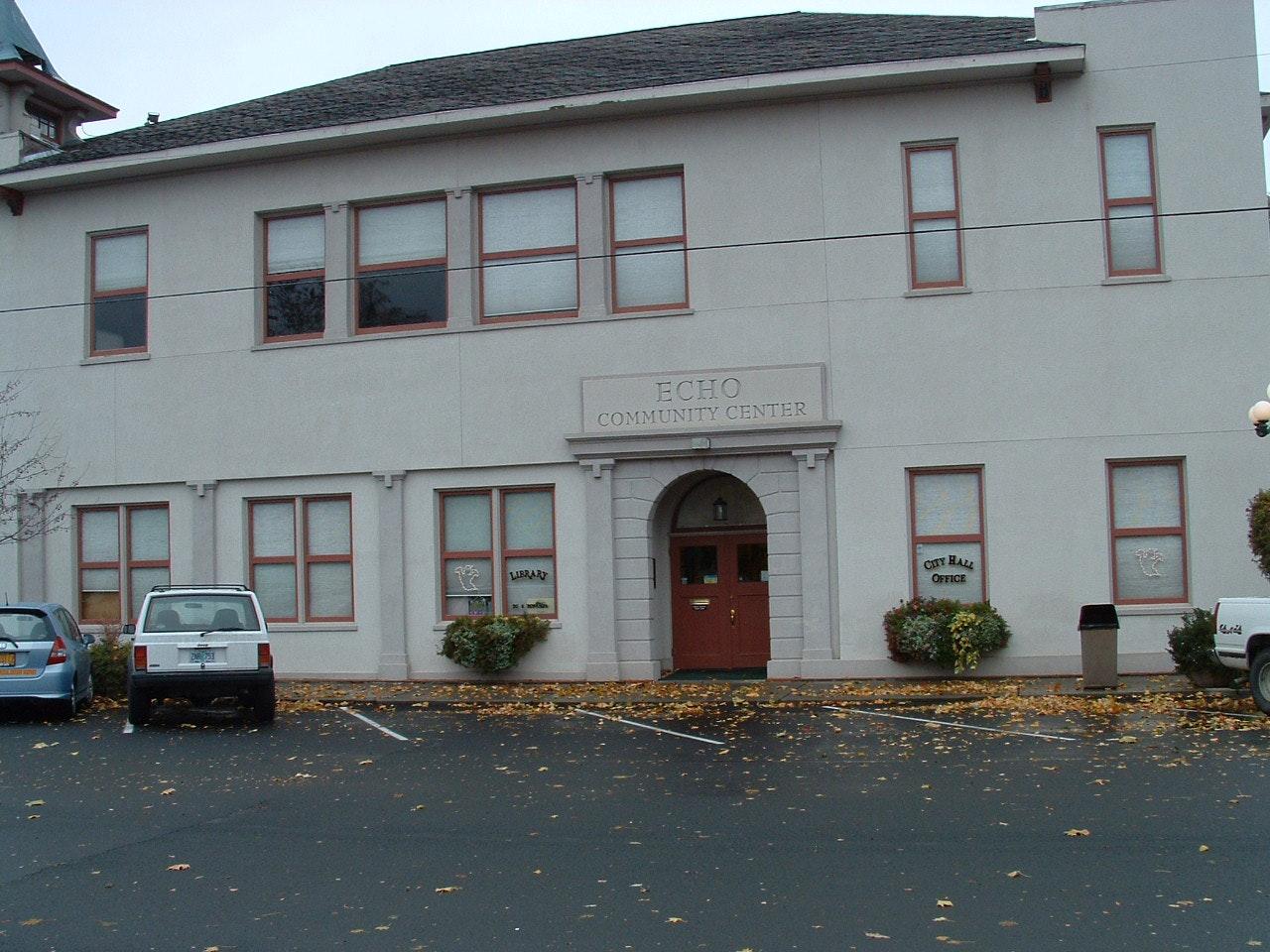 Echo Public Library building