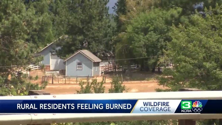 KCRA pic Rural Residents Feeling Burned