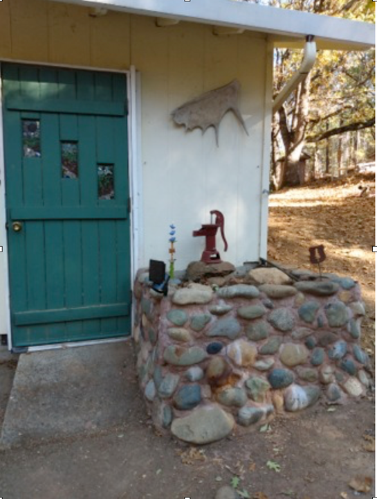Planter box near Front Door