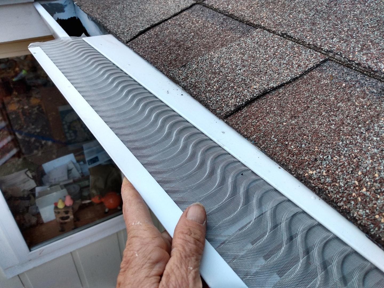 Installing gutter guard
