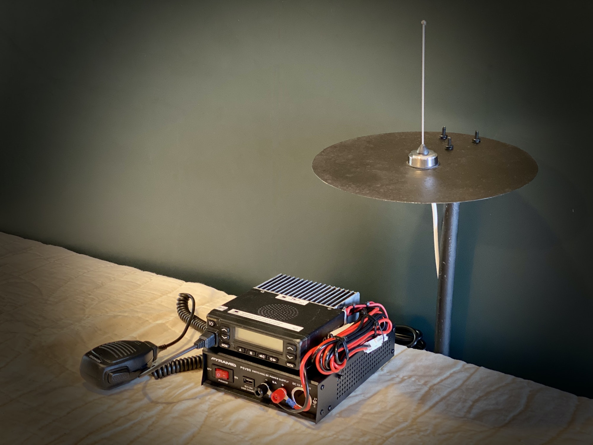 Typical Base Station with One Style of House Antenna