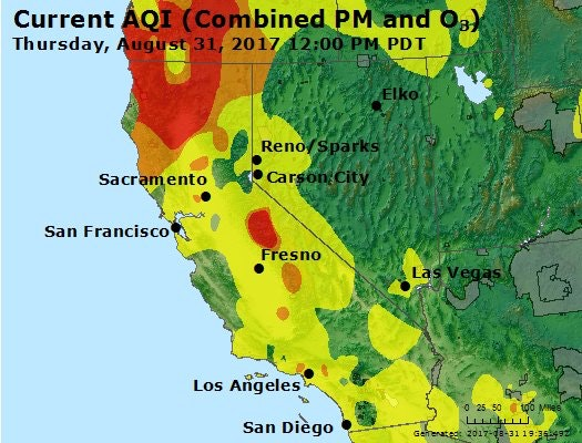 Air Quality Advisory August 31 2017 Feather River Air Quality