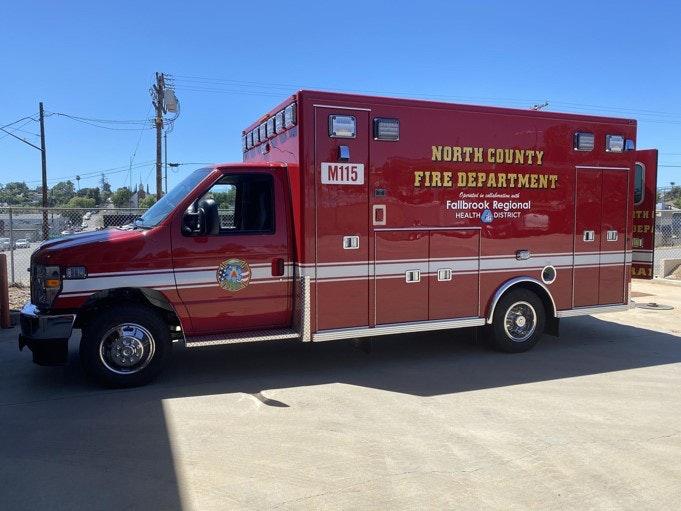 Photo of new ambulance