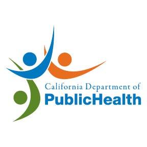 Image of California Department of Public Health logo.