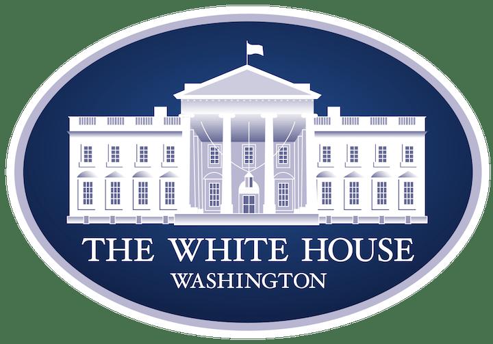 Image of The White House Washington logo.