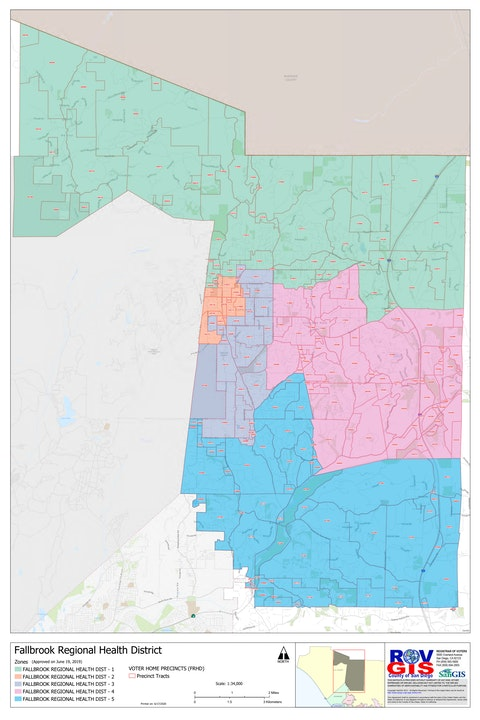 Zone-based map