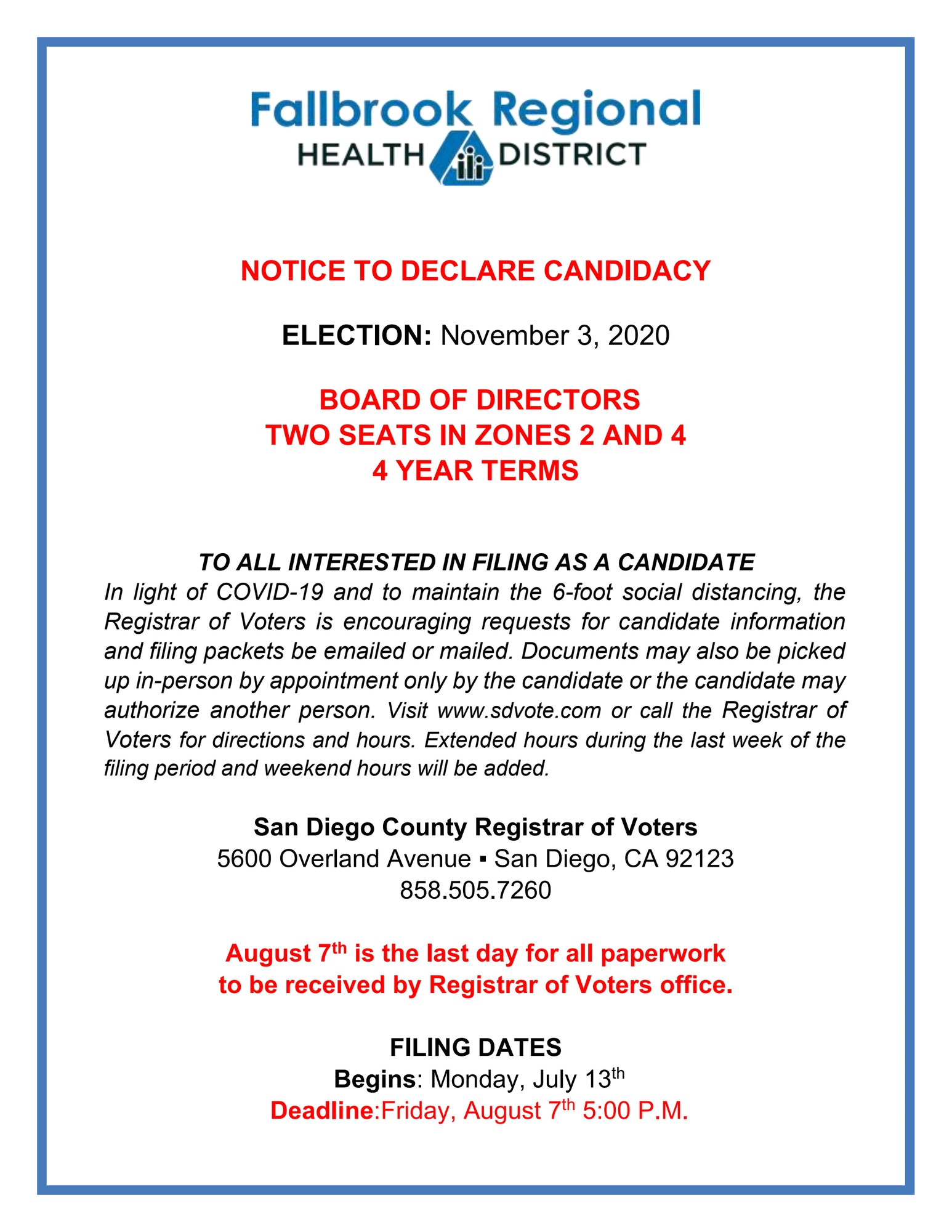 Image of pdf below about November 3, 2020 election.