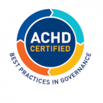 ACHD Certified Best Practices in Governance logo