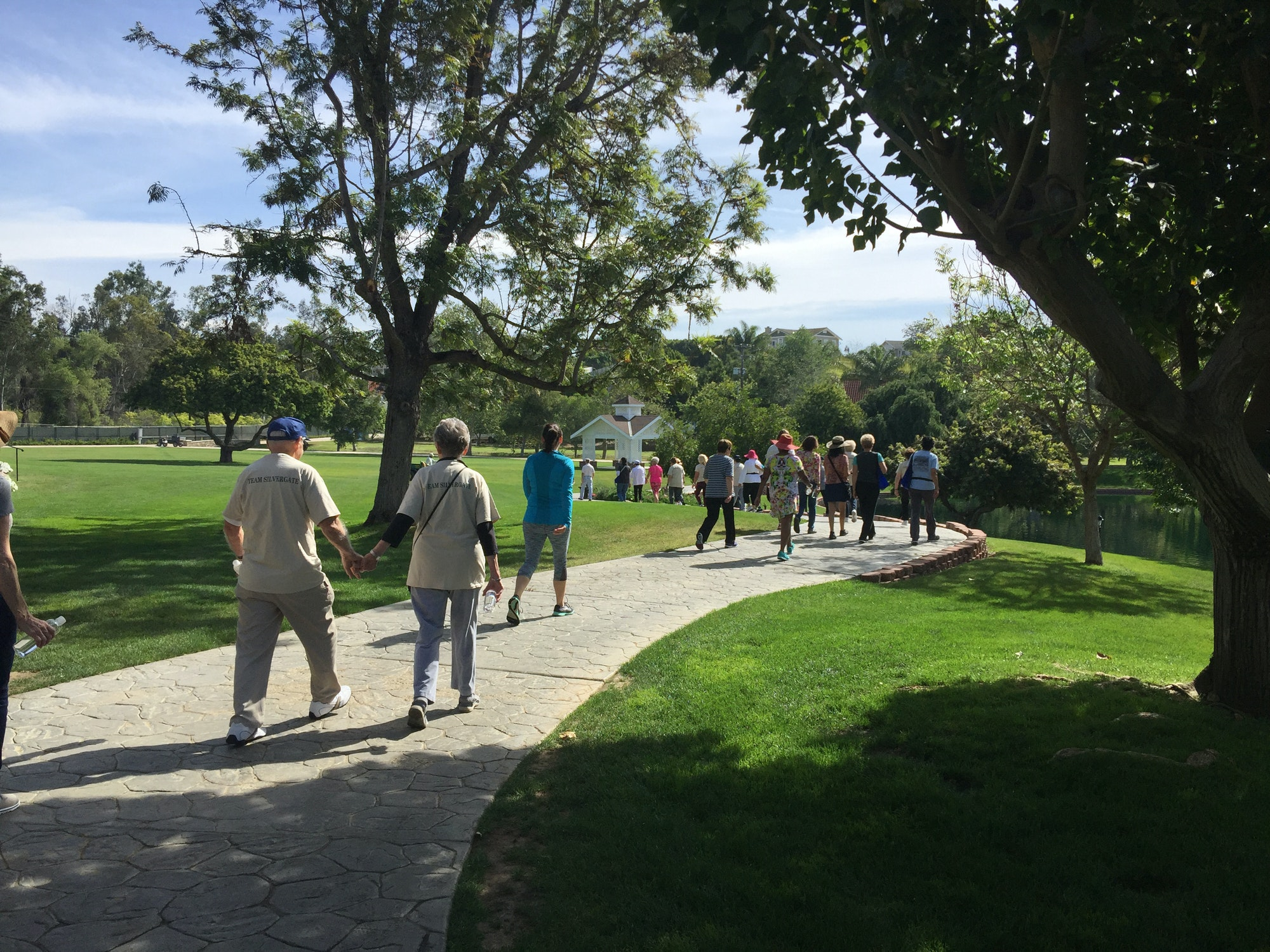 3rd Wellness Walk On April 7th 2017 At Grand Tradition Estate And Gardens Fallbrook Regional
