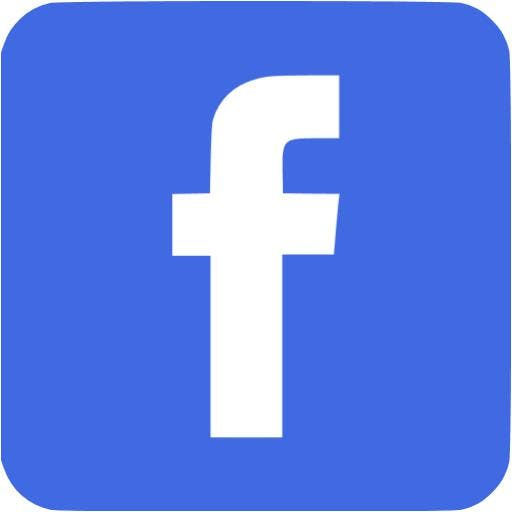 Image of Facebook logo.