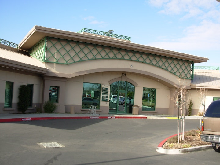 Where we are located on the district campus. 275 Solano Street Corning, CA.96021