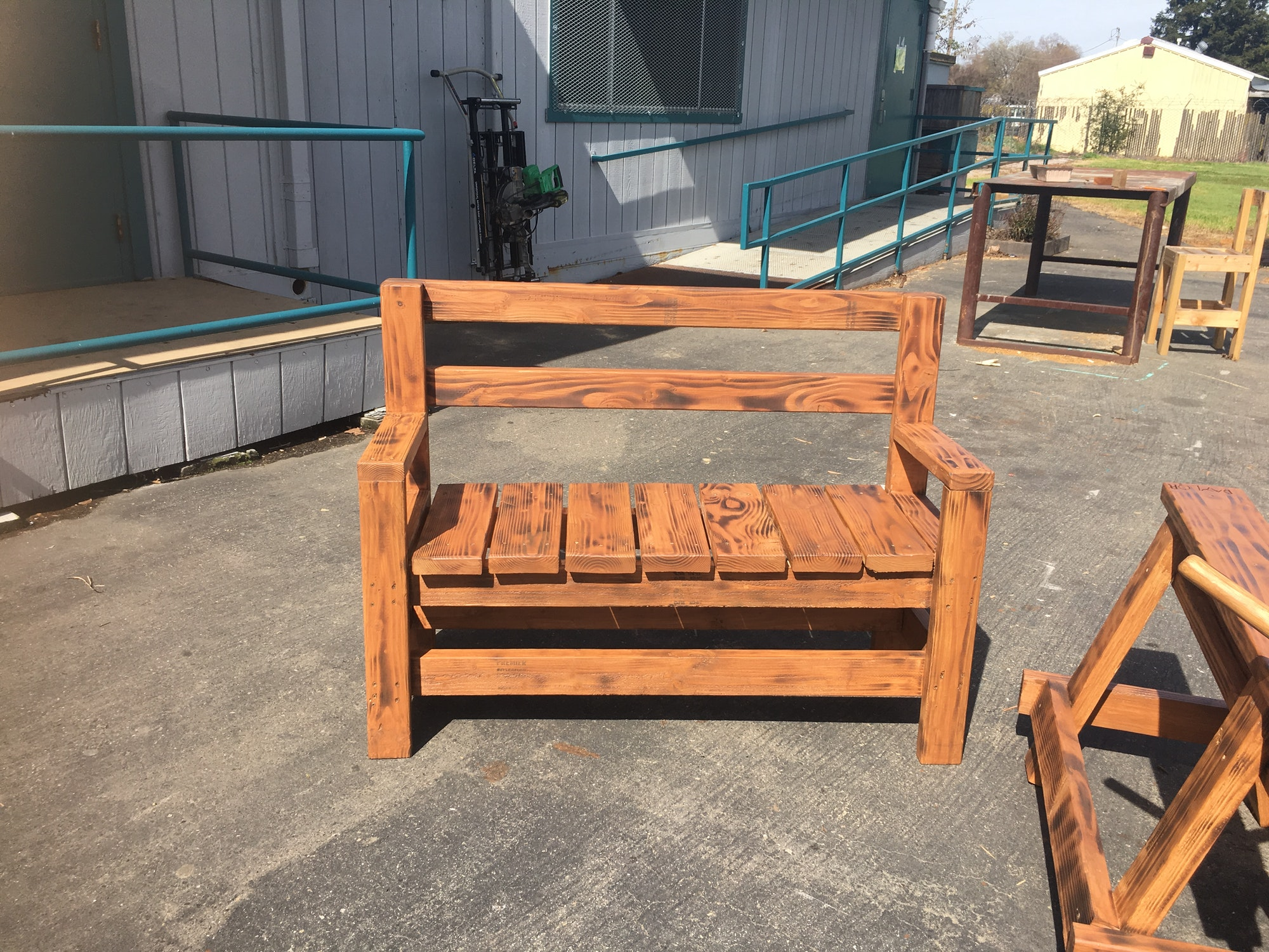 William Daylor HS students created benches