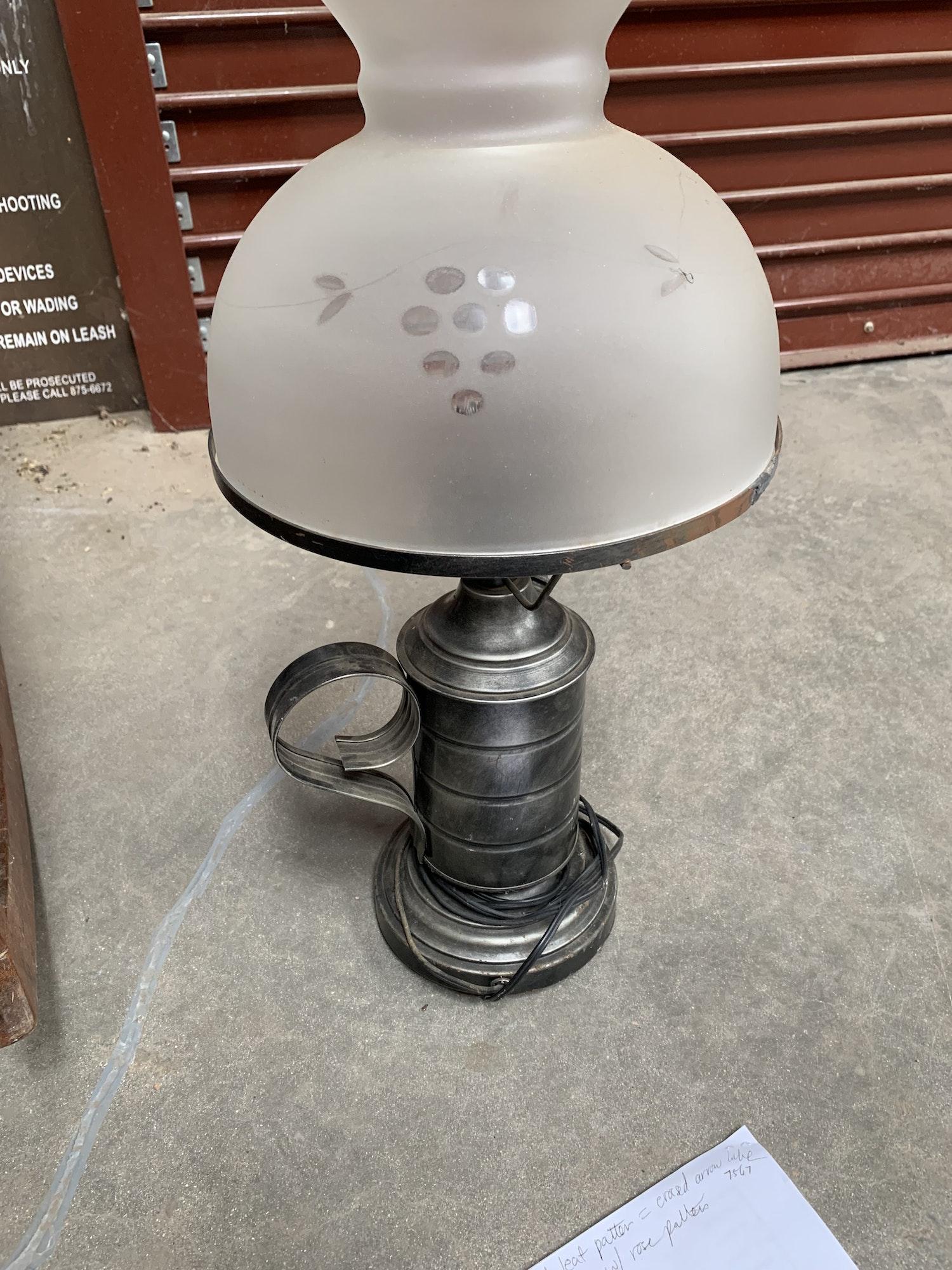 May contain: lamp