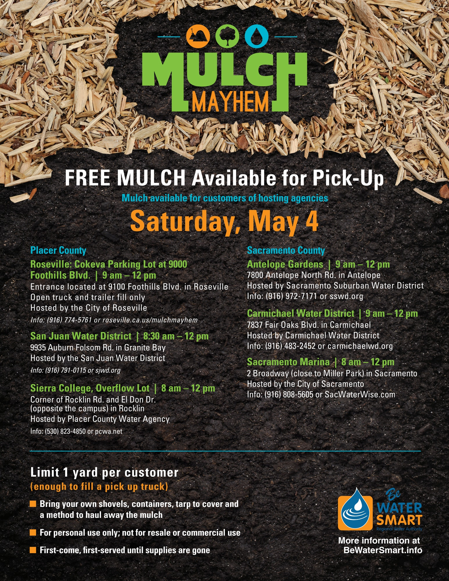 Mulch Mayhem info