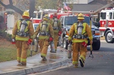 May contain: person, human, and fireman