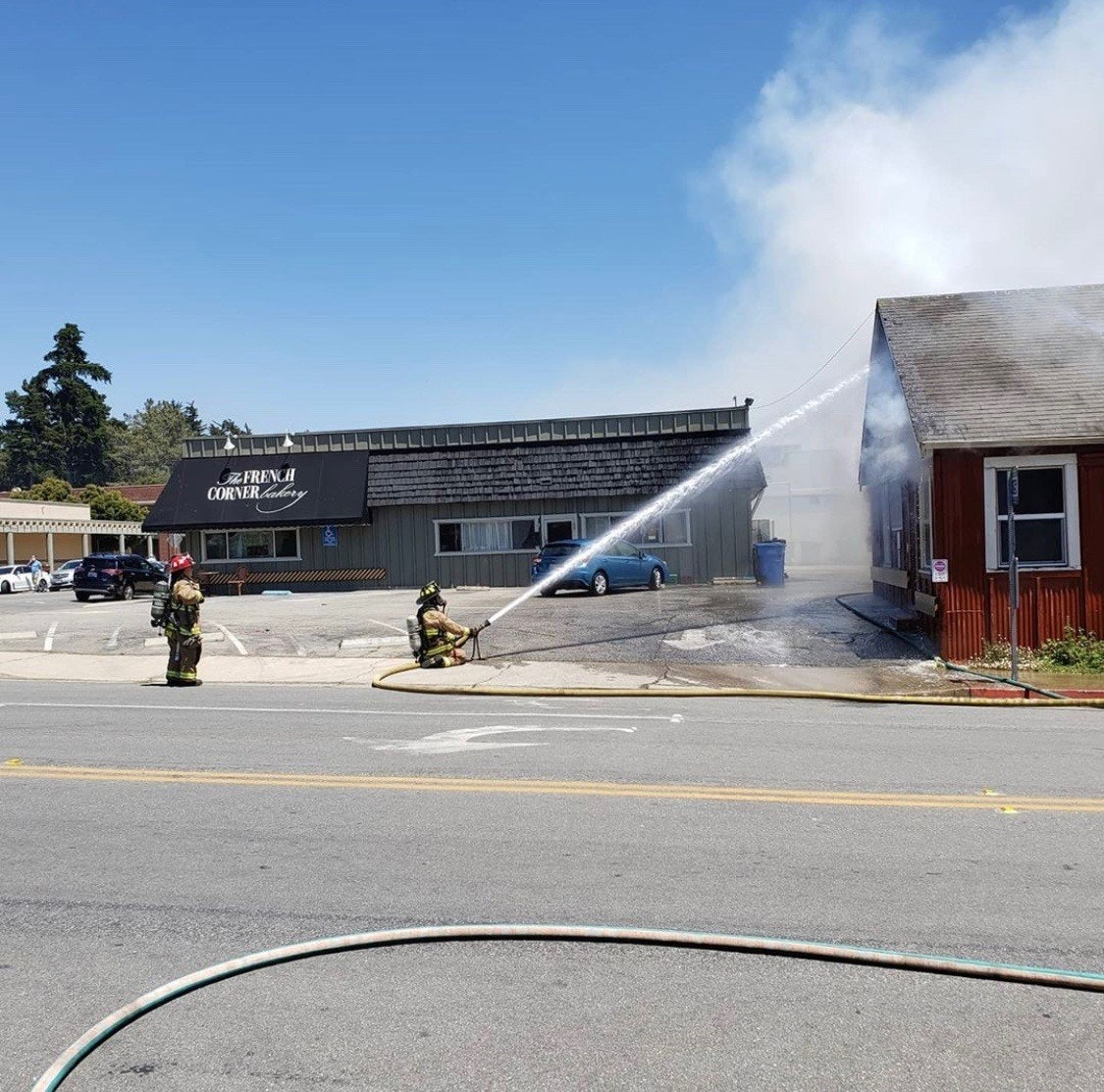 Burton Drive Fire 8/1/2020