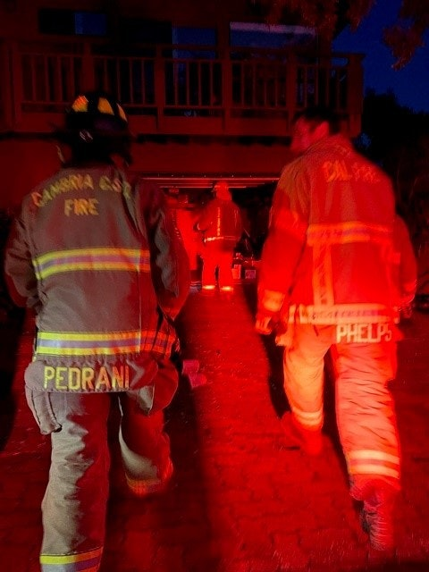 May contain: fireman, person, and human