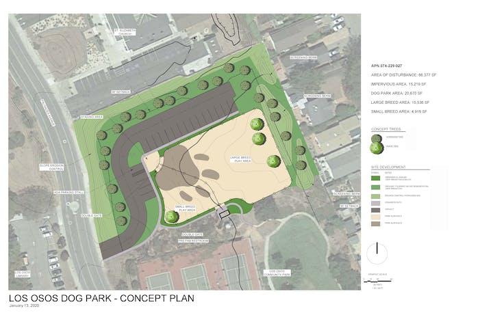 Los Osos Dog Park Concept Plan
