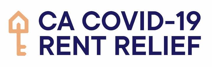 Logo CA COVID-19 RENT RELIEF, key
