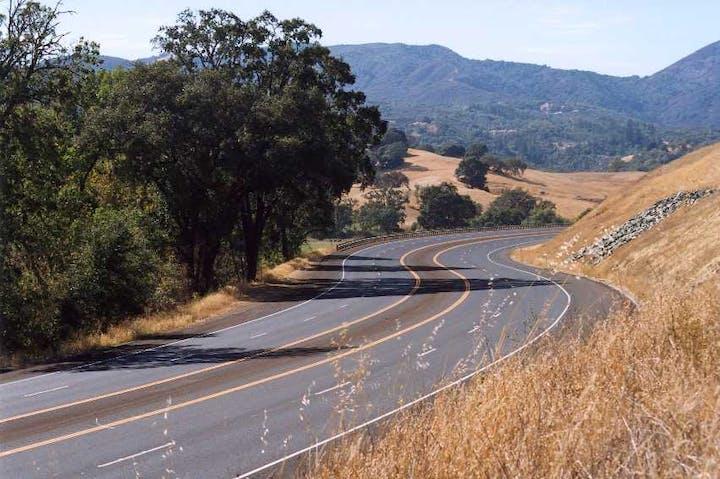 May contain: road, highway, freeway, asphalt, and tarmac