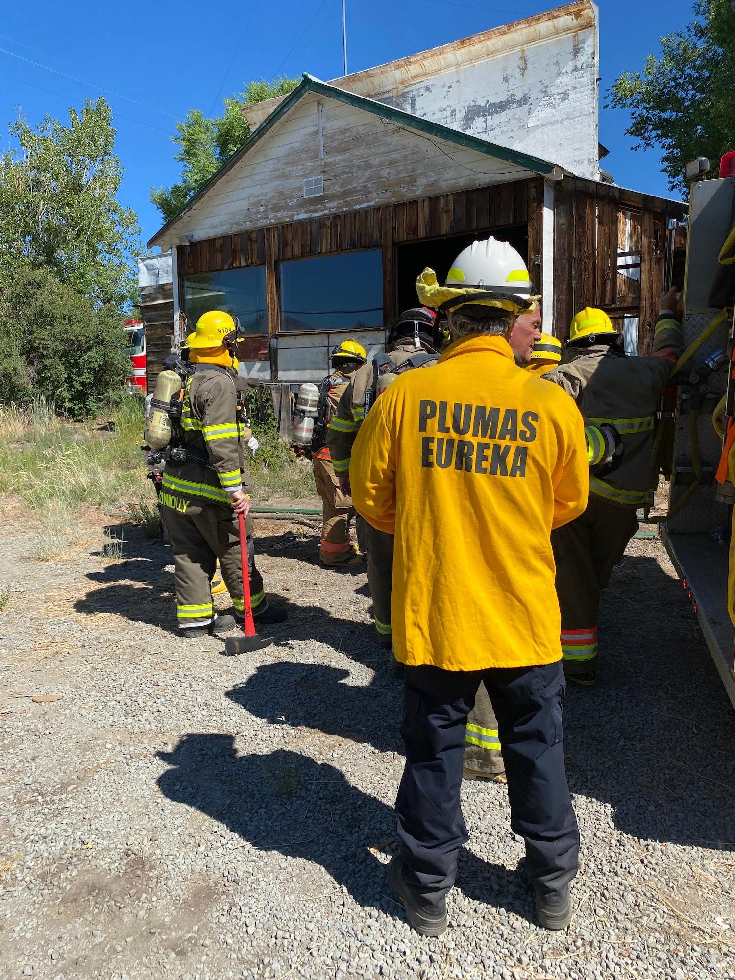 PEFD at disaster drill June 2021