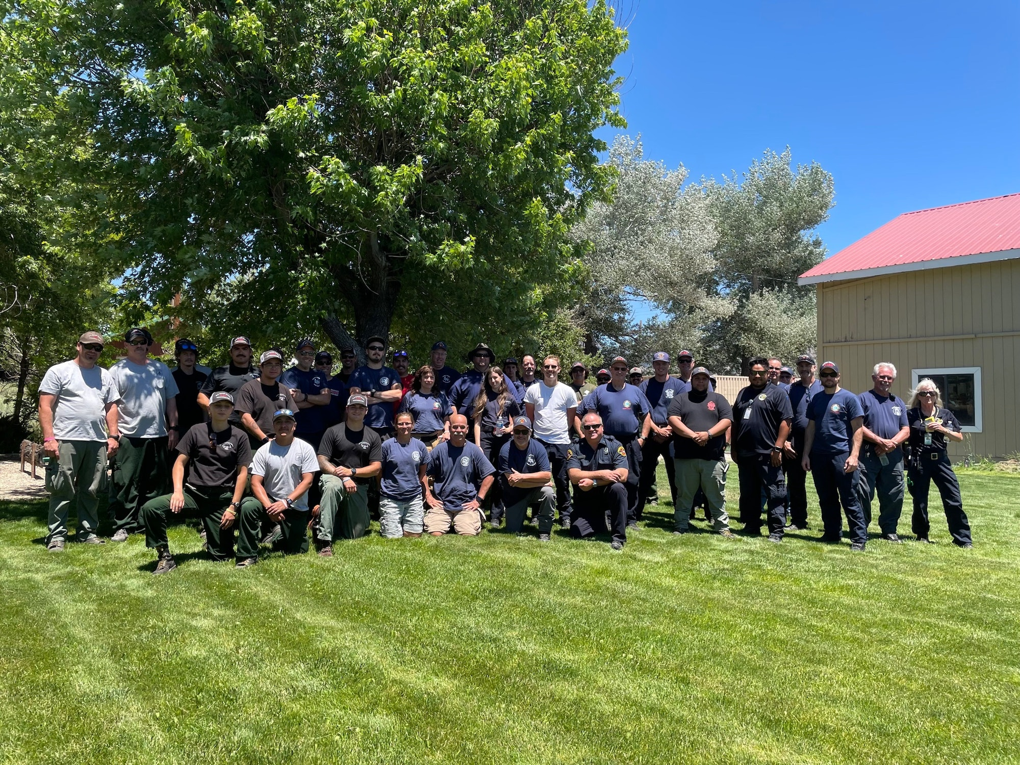 Plumas And Sierra County Disaster Dill participants June 2021