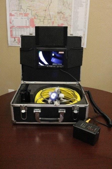 New Water Mainline Camera Equipment