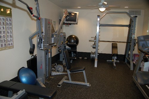 gym, equipment