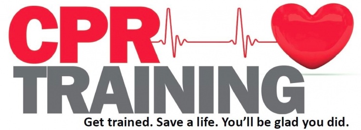 May contain: text, CPR, training, logo