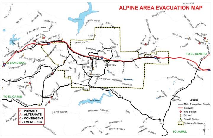 map, evacuation, emergency