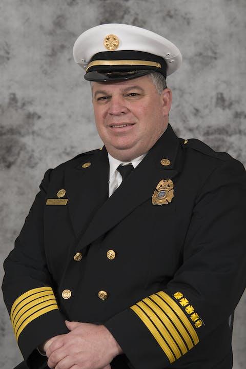 Fire Chief, Portrait