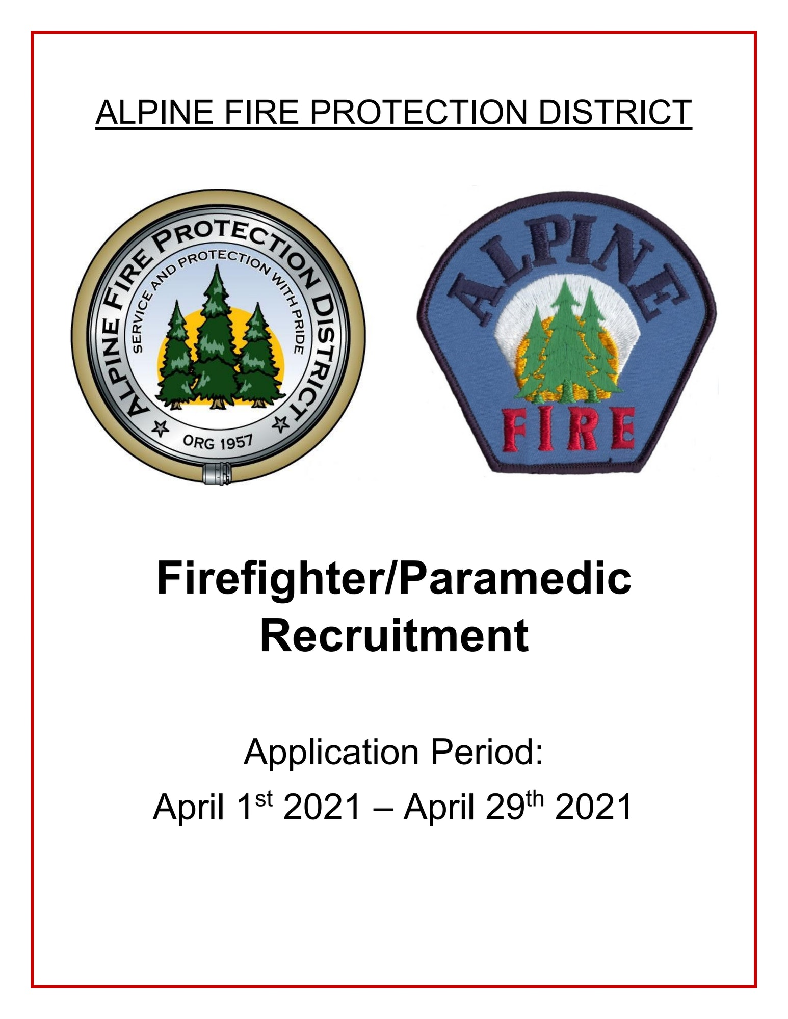 Firefighter Recruitment