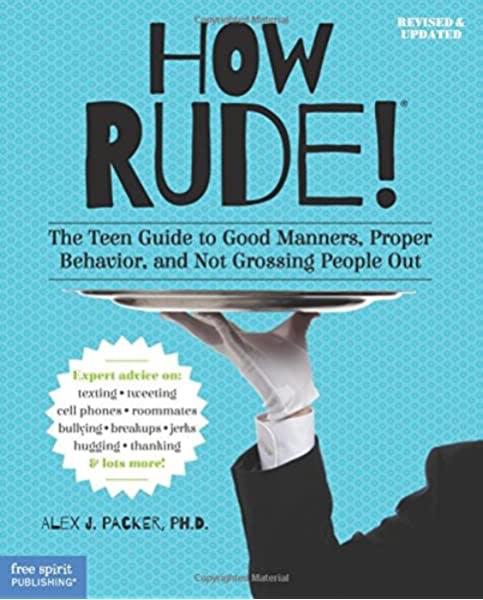 book cover: How Rude! etiquette book