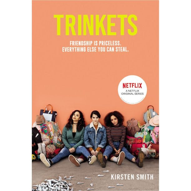 book cover: Trinkets