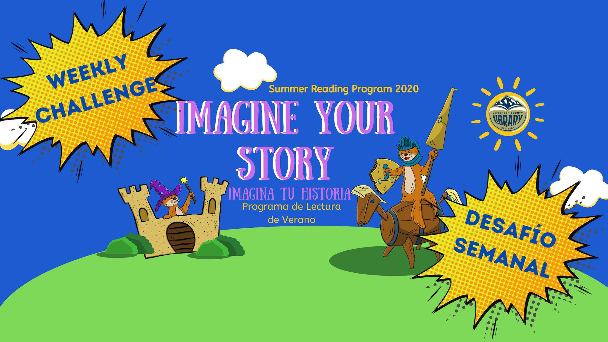 Banner for Summer Reading Program Weekly Challenge