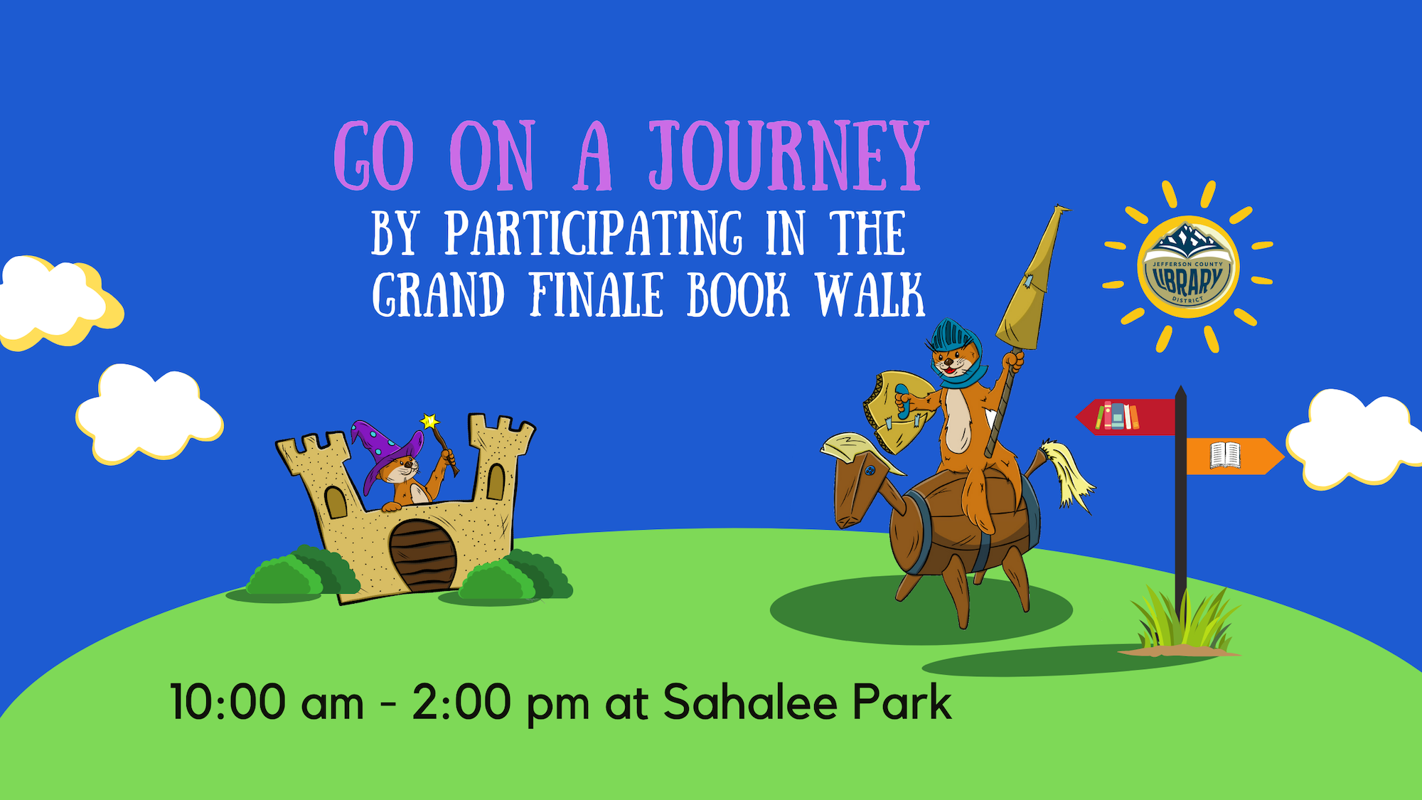Banner for Grand Finale Book Walk