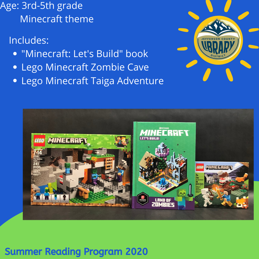 Prize: Minecraft for upper elementary age
