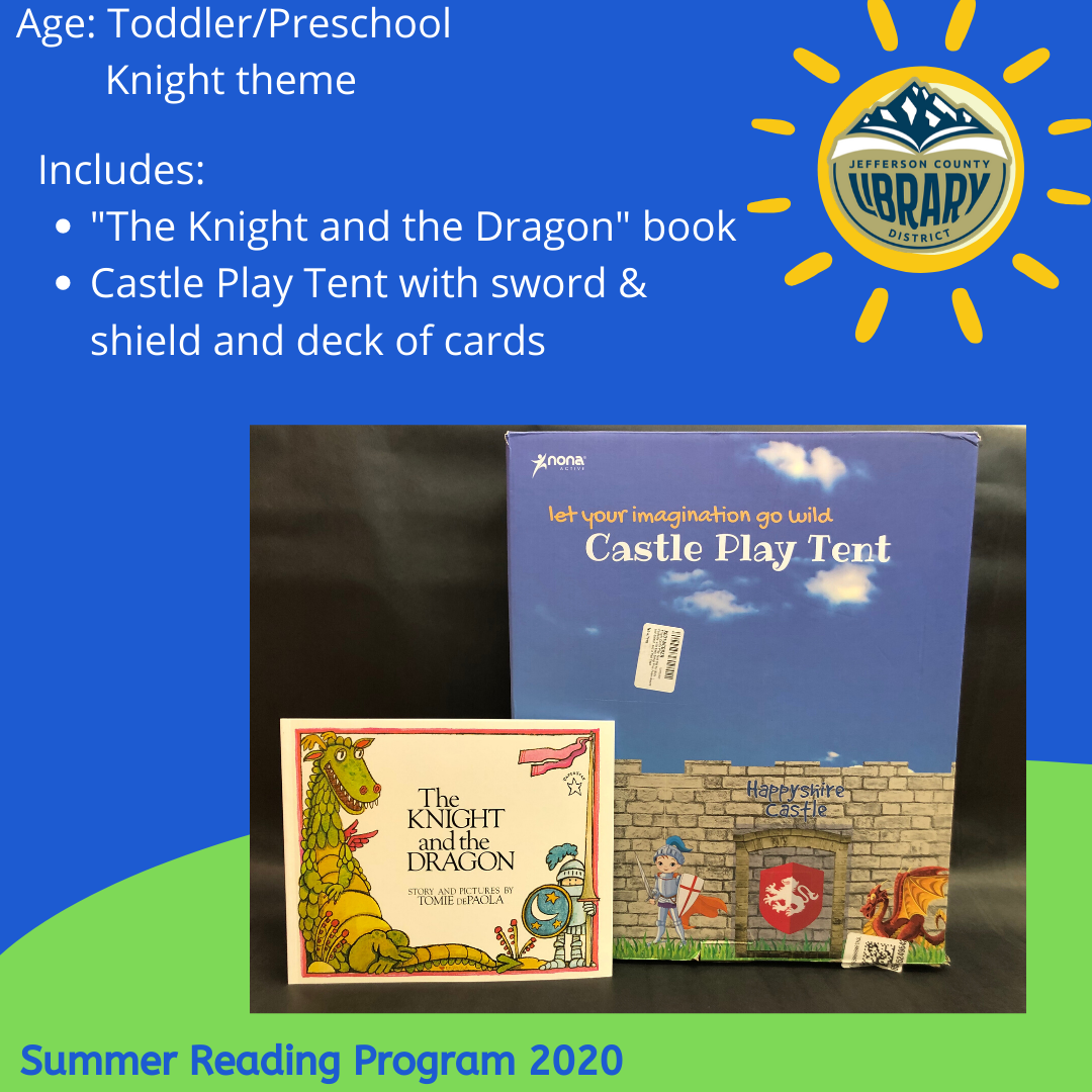Prize: Knight for PreK age