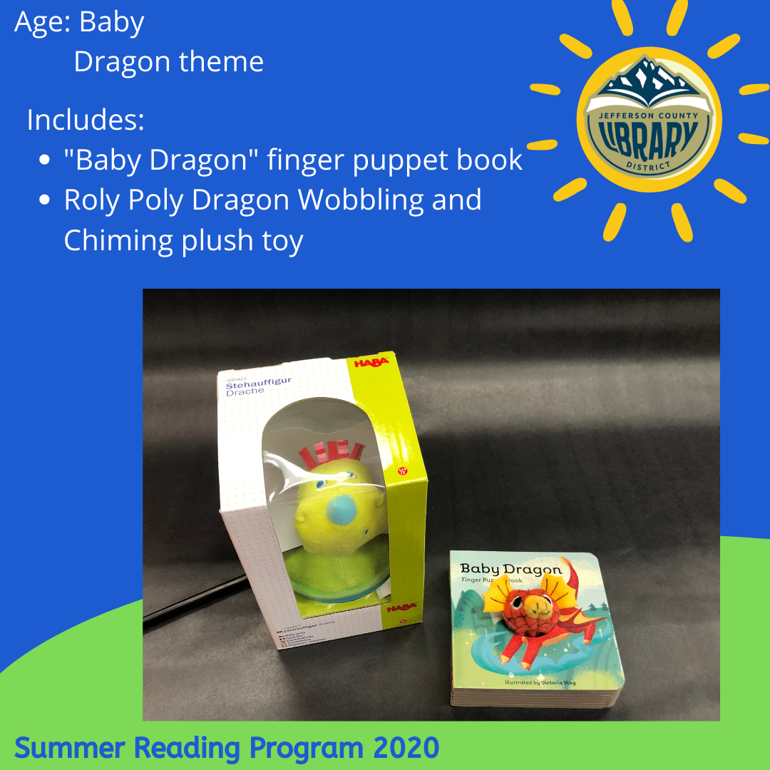 Prize: dragon for baby-toddler age