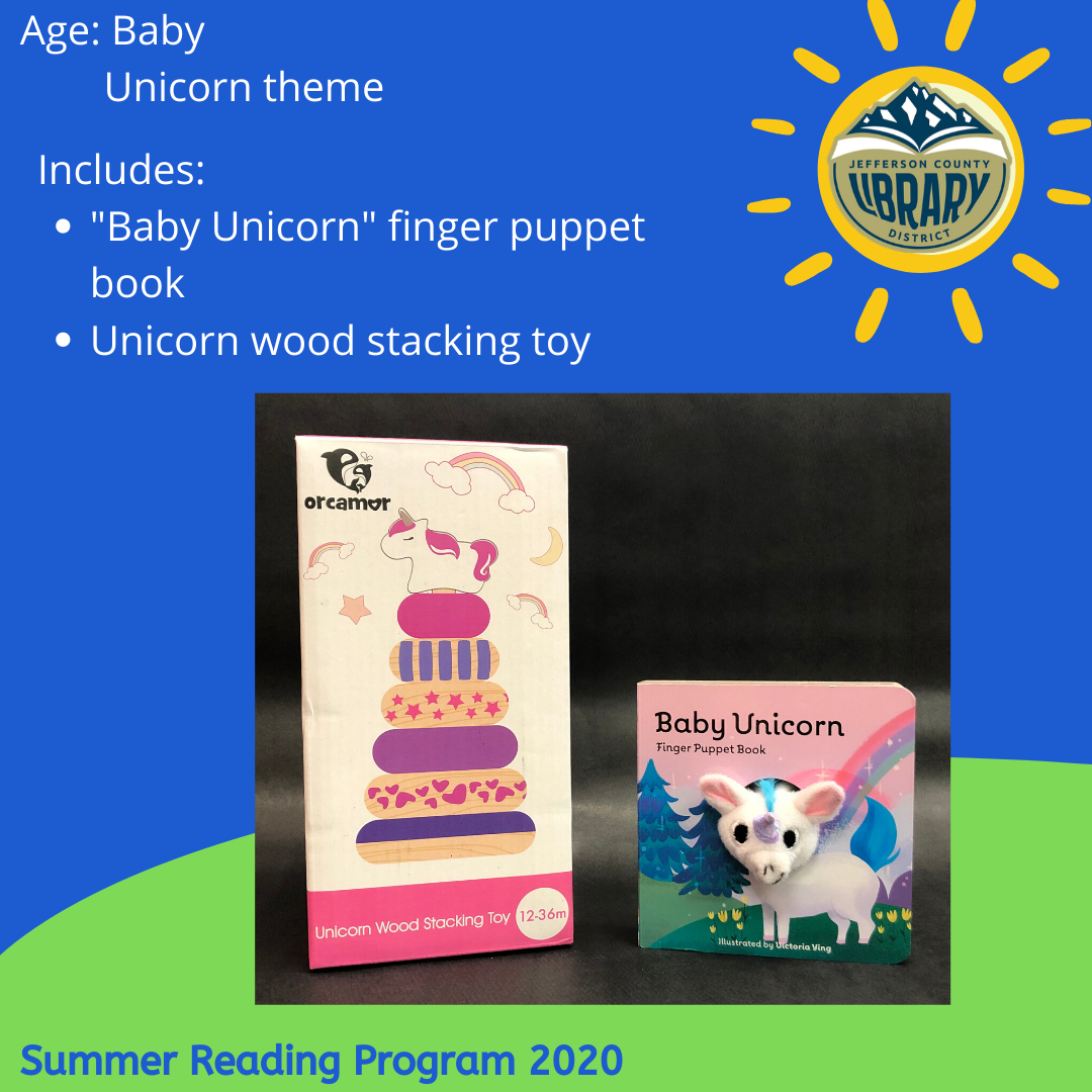 Prize: unicorn for baby age
