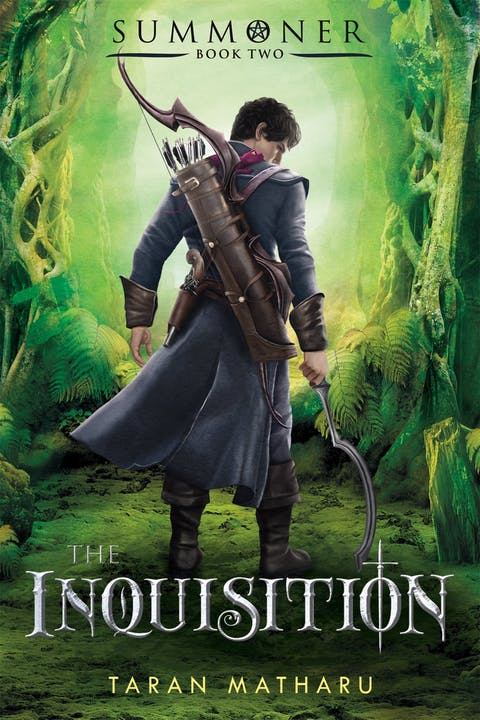 book cover: The Inquisition
