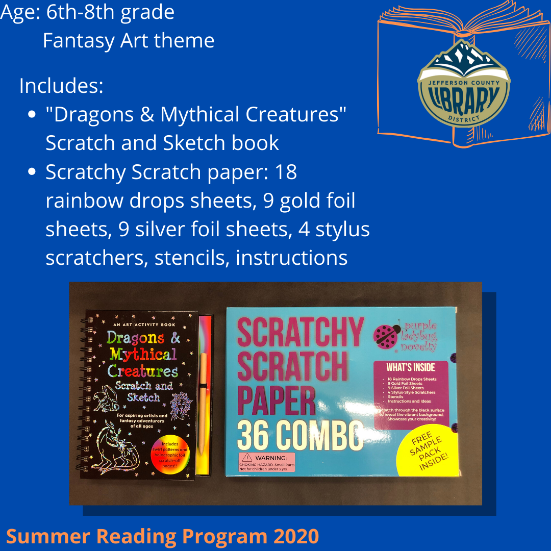 Prize: Fantasy Art for middle school age