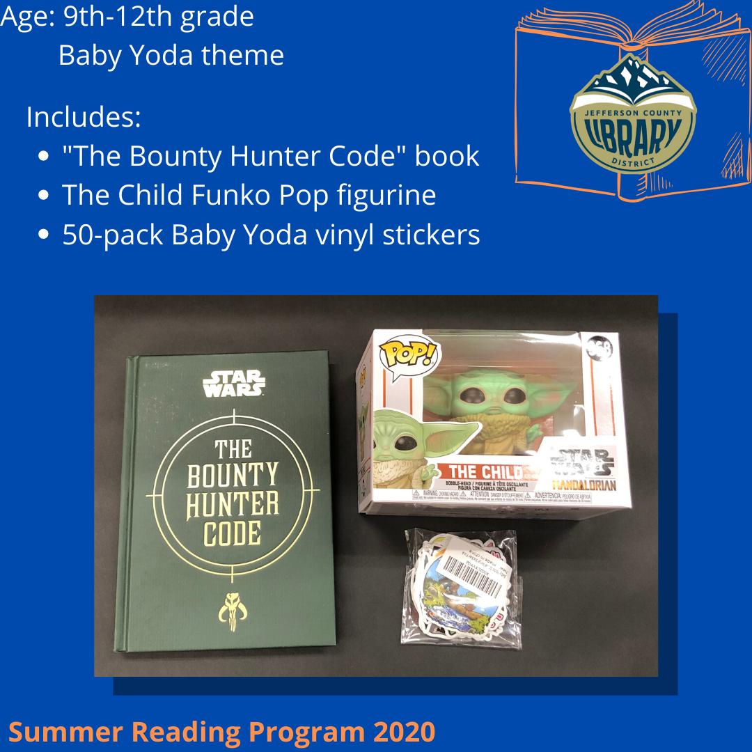 Teen Prize Basket Baby Yoda