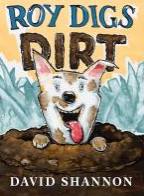 May contain: a dog covered in dirt