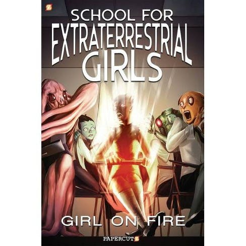 book cover: School for Extraterrestrial Girls